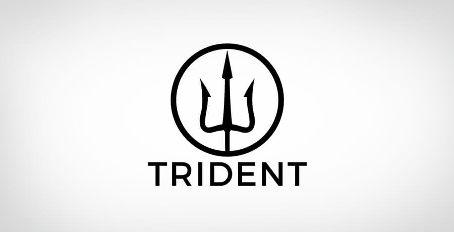 Greek Mythology of Trident Logo