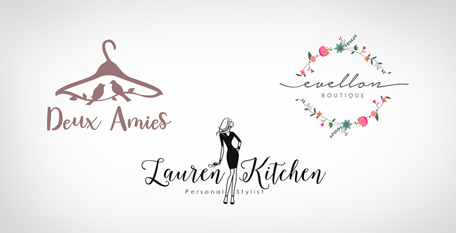 Stylish and Chic - Fashion Logo Inspiration