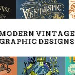 Modern Vintage Graphic Designs