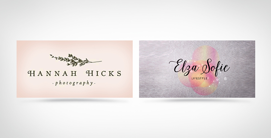Dreamy and Delicate - Fashion Logo Inspiration