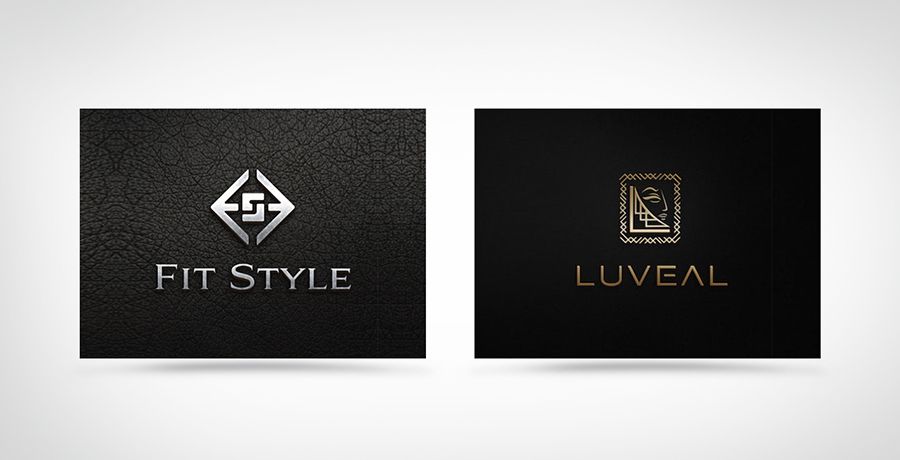 Strong and Dynamic - Fashion Logo Inspiration