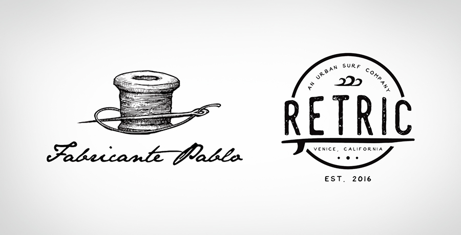 Relaxed and Cool - Fashion Logo Inspiration