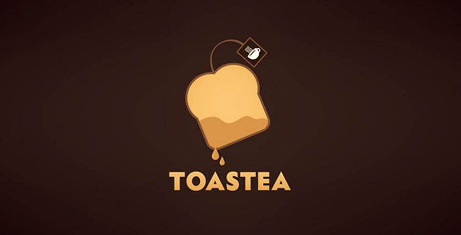 Toastea Logo - Catering Logo