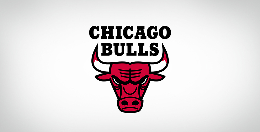 Chicago Bull - Triangle Shape Logo