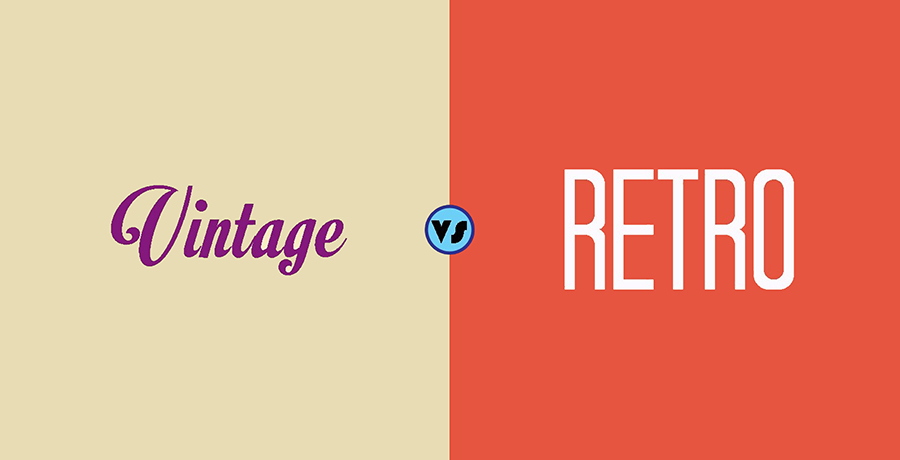 Difference Between Vintage and Retro