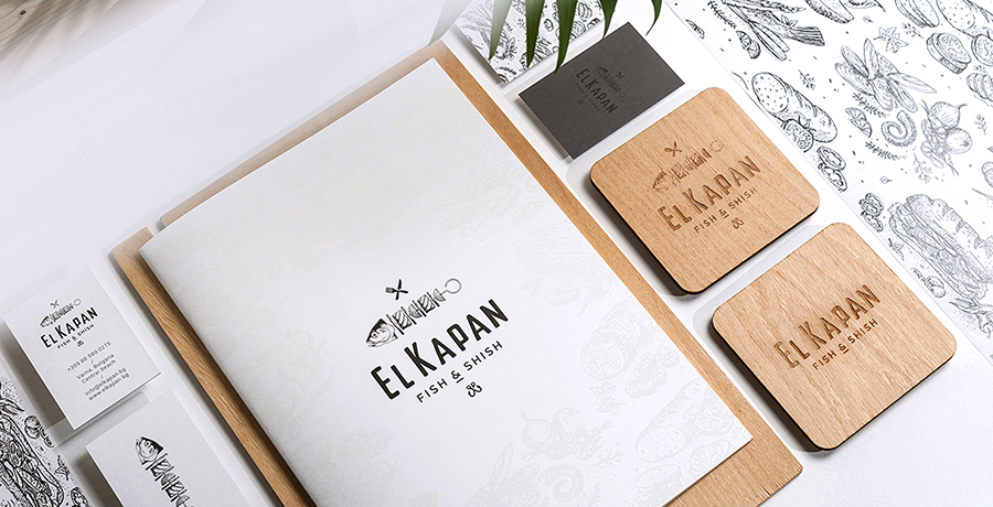 El Kapan- Varna - Menu Design Ideas