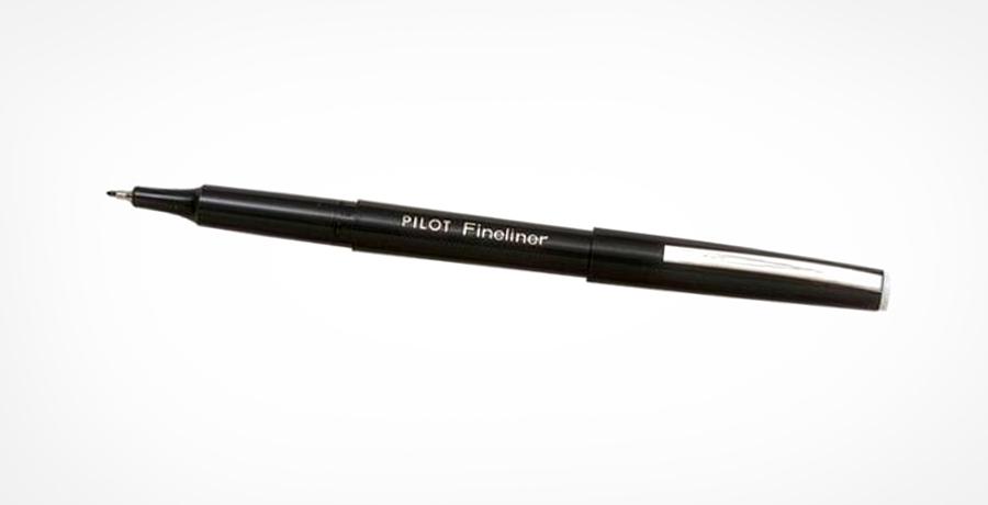4)Pilot Fine liner marker pen