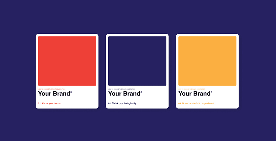 1)Right colors can evoke the mood and energy - Poster Design
