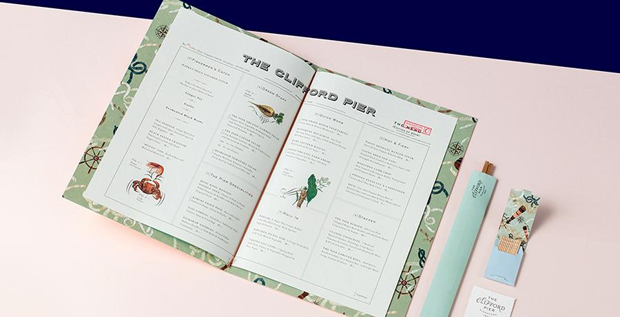 The Clifford Pier- Singapore - Menu Design Ideas