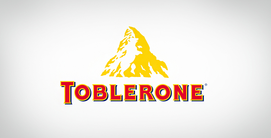 Toblerone - Logo With Triangles