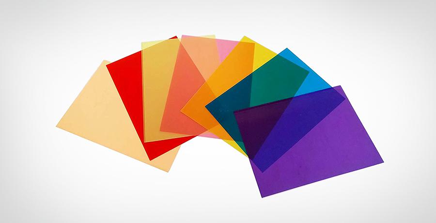 Transparent color overlays