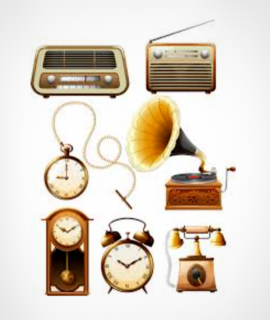 Radios & Gramophones - Vintage Design
