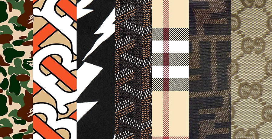 Repeated Patterns - Label Designs