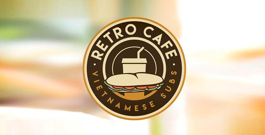 Retro Cafe Logo Design