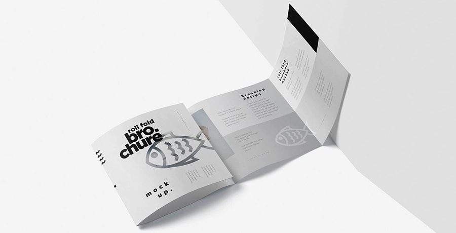 Roll-Fold brochure designs