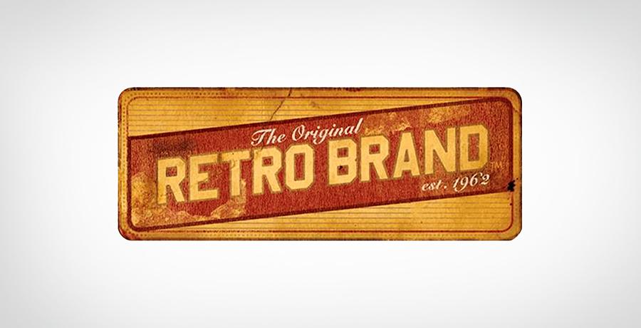 The Original Retro - vintage logo design