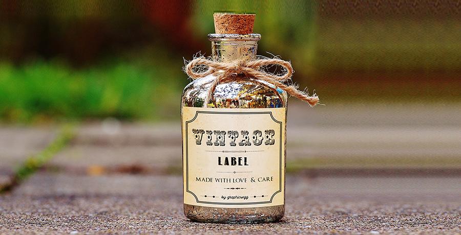 Vintage - label Design