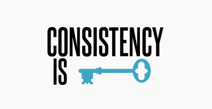 Consistency is Key - Building Customer Trust