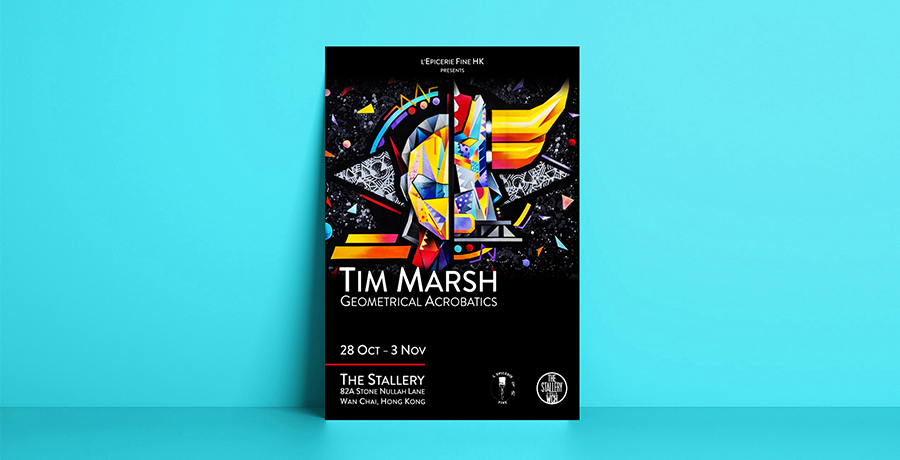 Dive Into Colors - Flyer Design Ideas