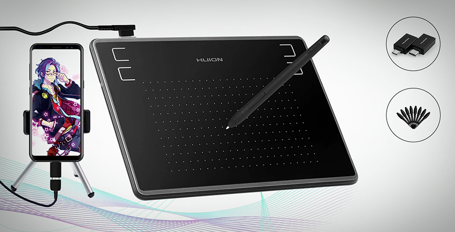 HUION Inspiroy H430P OSU - Tablets For Drawing