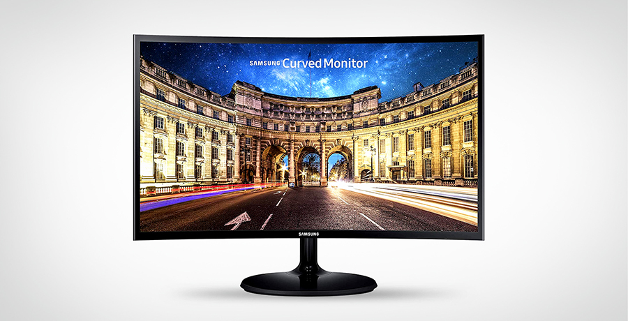 Samsung CF390 - Curved Monitor For Programming