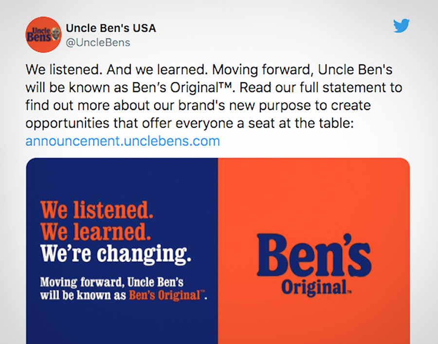 Uncle Ben's By Mars