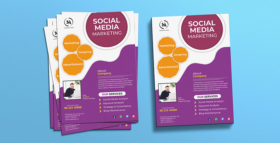 Use Social Media Flyer Design Ideas