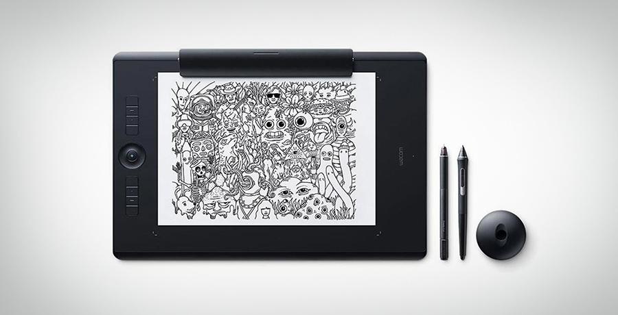 Wacom PTH860 - Tablet For Graphic Designers