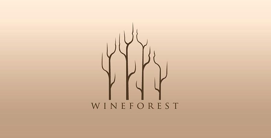 Wine Forest - Best Logo Samples