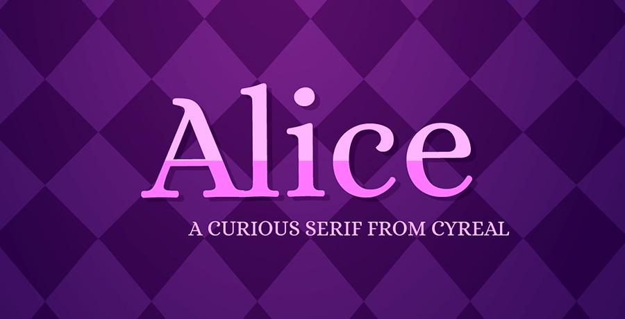 Alice - Best Free Serif Font