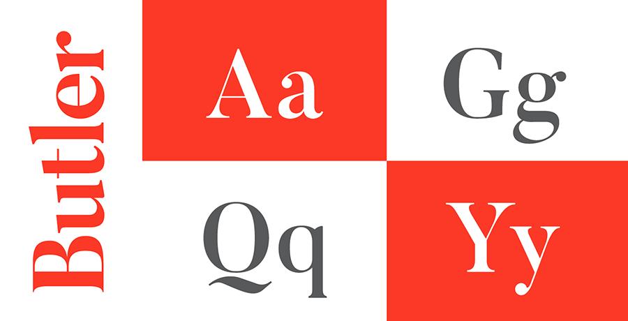 Butler - Font For Branding