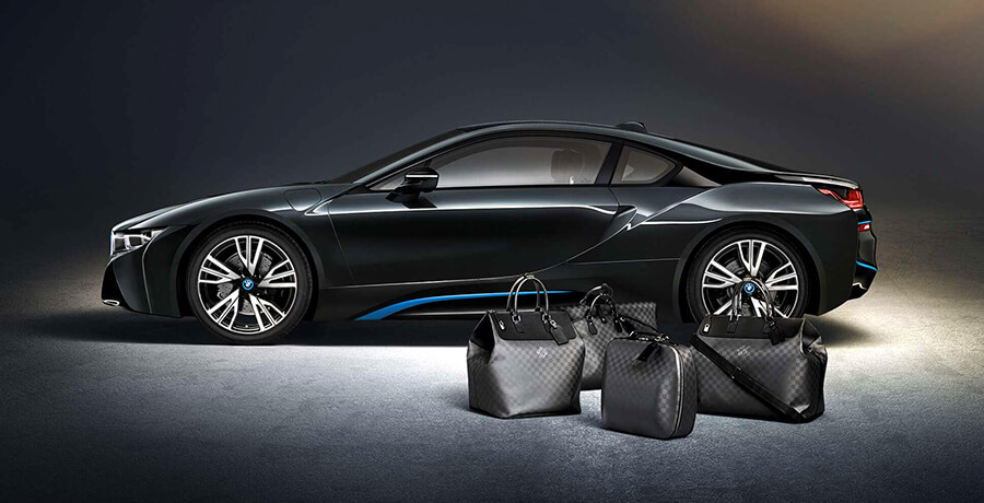Co-branding of BMW and Louis Vuitton