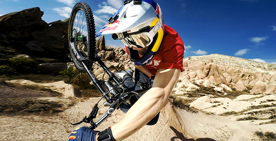 Co-branding example of Red Bull and GoPro