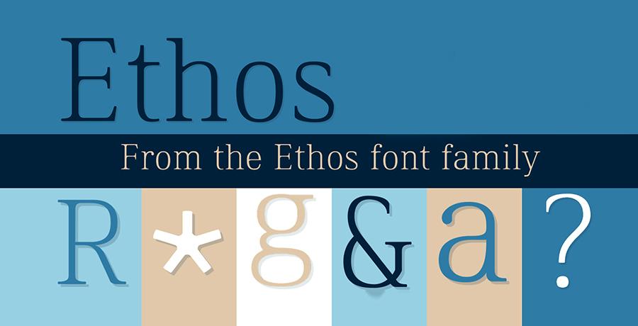 Ethos - Free Serif Fonts
