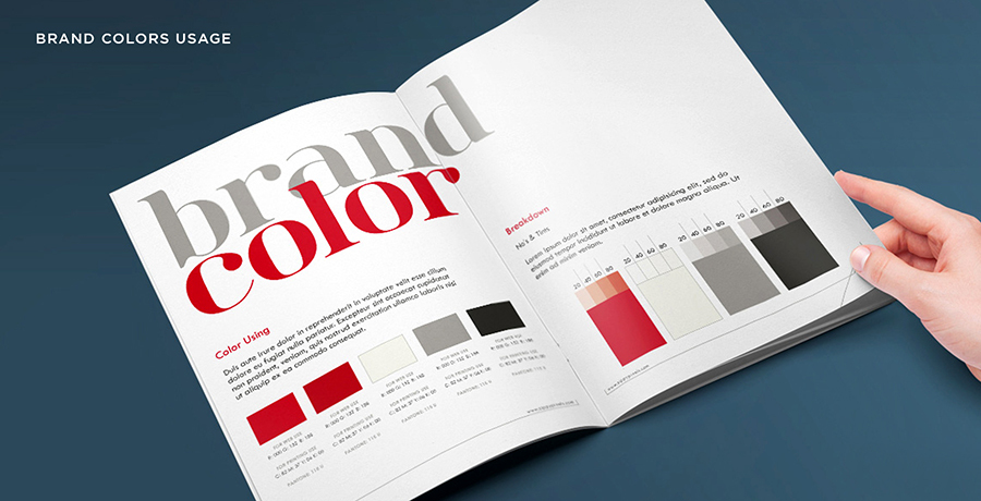 How to use brand colors