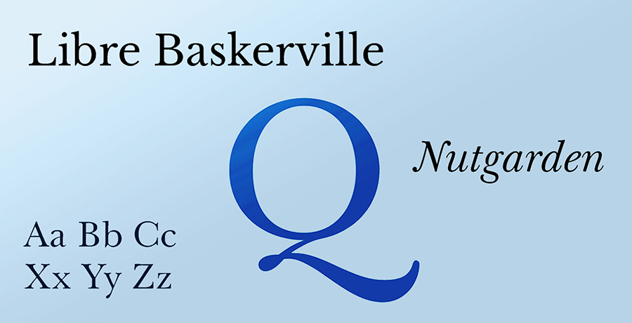 Libre Baskerville - Best Serif Fonts