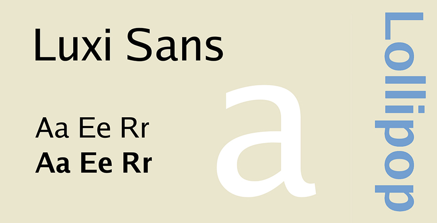 Luxi Serif - Best Serif Fonts