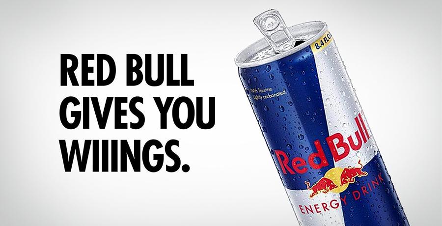 Red Bull - Slogan Advertising