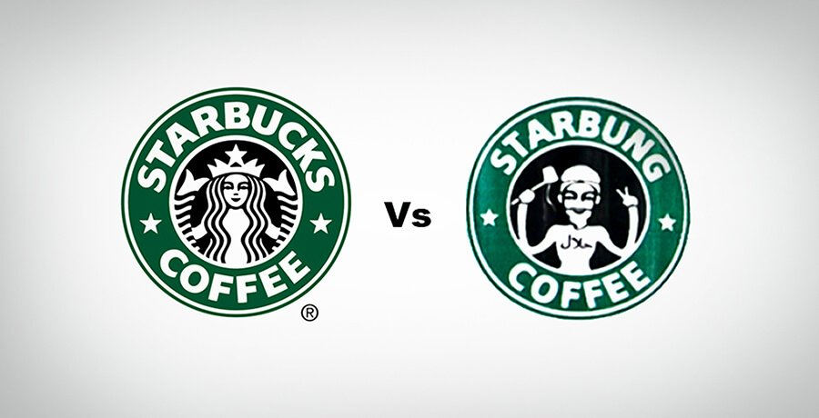 Starbucks Complex Logo Design