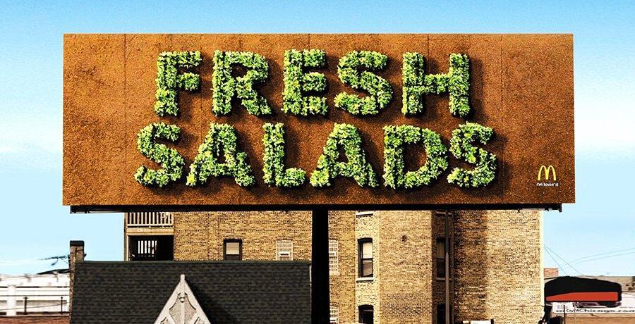 McDonald's Fresh Salad