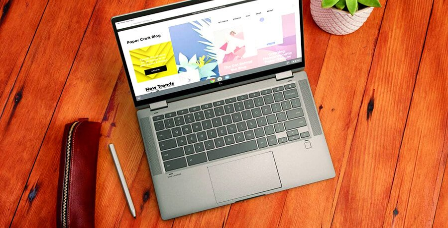 Chromebook HP: Mejores computadoras portátiles económicas para diseño gráfico