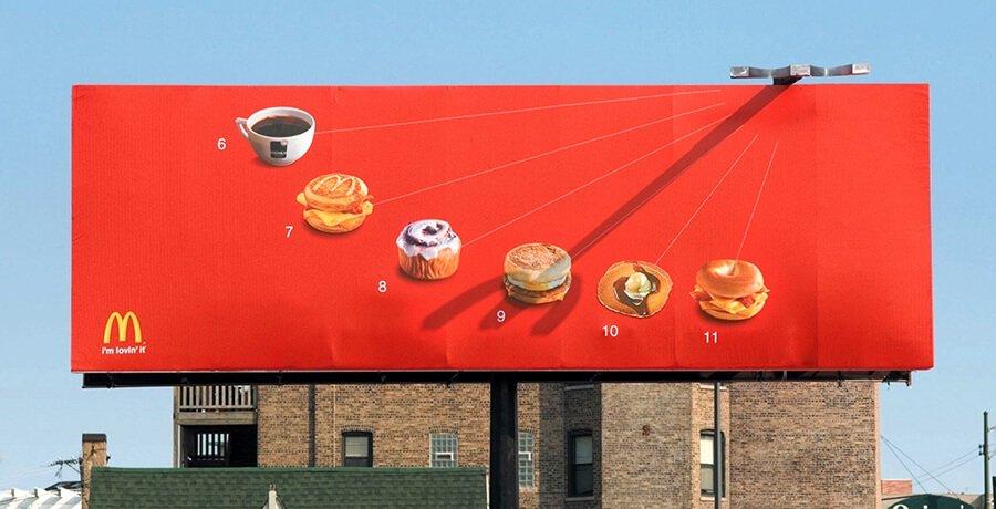 McDonald's Billboard Branding