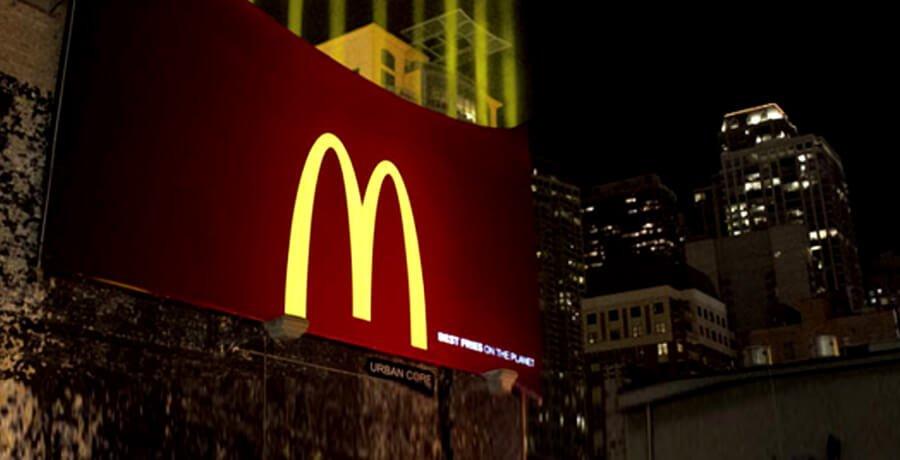 McDonald's Branding Advertisement
