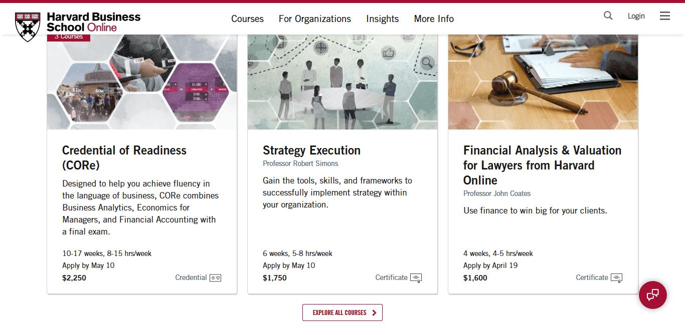 School Branding Harvard