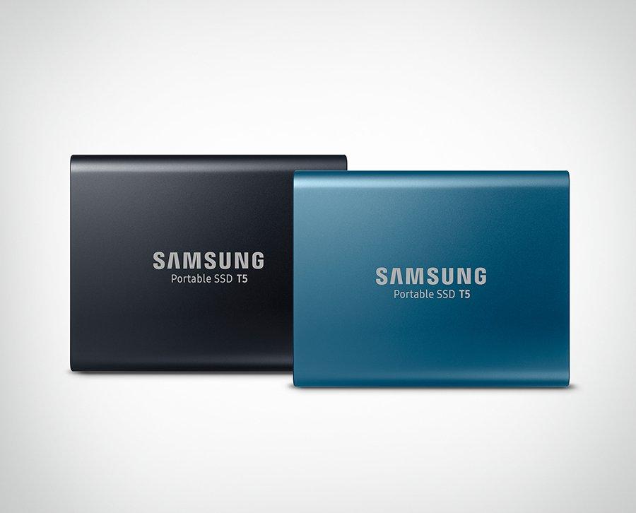 Best External SSD 2021 - SAMSUNG T5 Portable SSD