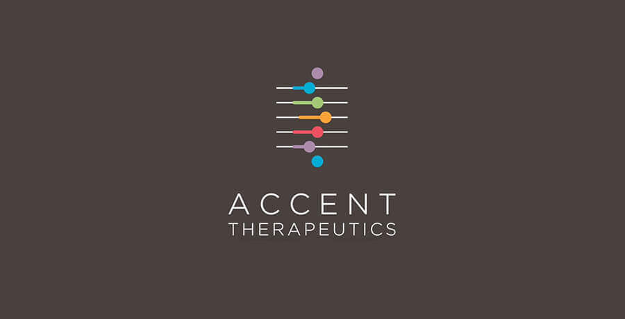 Accent Therapeutics Logo - Flat Logo Designs