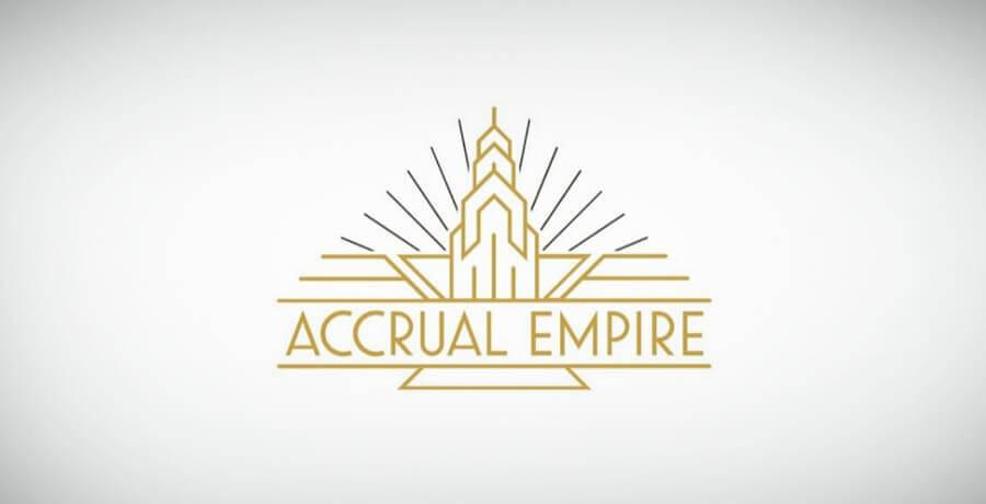 Actuarial Empire - Art Deco Logo Design