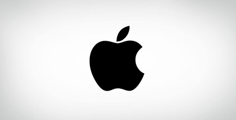 Apple Logo - Flat Logo Designs