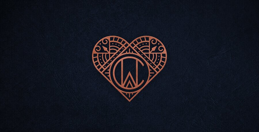 CW Monogram - Art Deco Logo