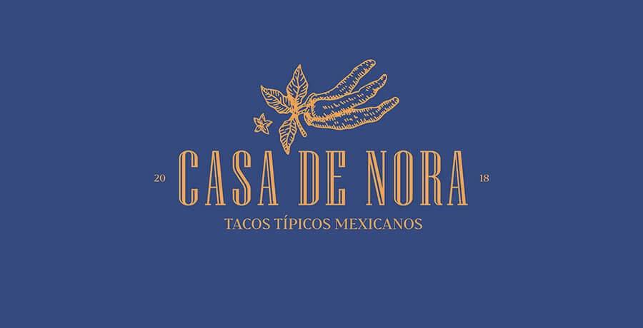 Casa de Nora - Art Deco Logo